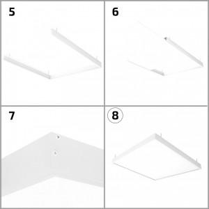 Plafón Led Circular 18w Blanco